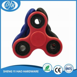 Wholesale Finger Spinner Pepyakka Hand Spinner Plastic 4 Bearings Fidget Spinner pictures & photos