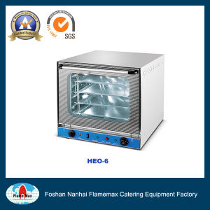Electric Convection Oven with Steam and Air Circulation (HEO-6) pictures & photos