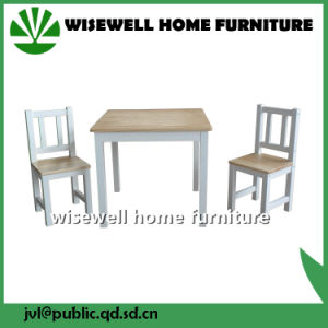 Pine Wood Children Table and Chair for Kindergarten (W-G-1076) pictures & photos