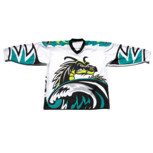 Custom Dye Sublimated Ice Hockey Jerseys Hockey Wear Hockey Shirts with Low MOQ pictures & photos