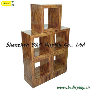 Cardboard Bookcase / Paper Grid Ark / Multi-Purpose Cabinet (B&C-F006) pictures & photos