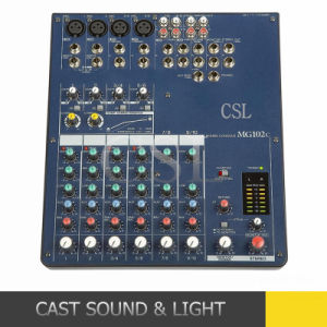 CSL Professional Mg102c PA System Mixing Console pictures & photos
