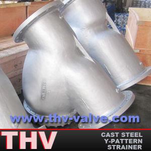 Y Pattern Cast Steel Strainer