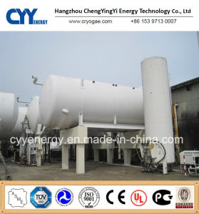 50m3 Liquid Oxygen Nitrogen Argon Carbon Dioxide LNG LPG Water Storage Tank pictures & photos