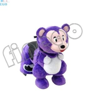 Finego Factory Plush Animal Indoor & Outdoor Kiddy Rides Scotter for Sale pictures & photos