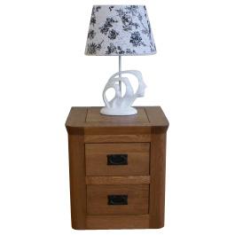 Solid Oak Wooden Furniture- Bedside Cabinet