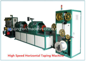 High Speed Nc Vertical Horizontal Cable Taping Packing Machine pictures & photos
