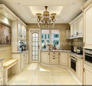 Bck Solid Wood Kitchen Cabinet (Wk-08) pictures & photos