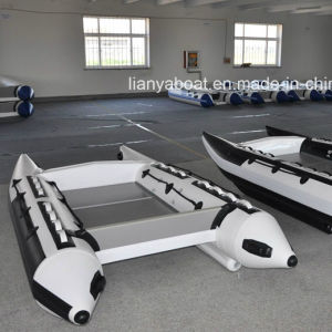Liya China Inflatable Speed Boats Catamaran Speed Boat Racing Boat pictures & photos