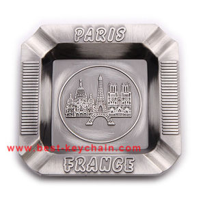 Souvenir Prais Metal France Gift Plate Custom Ashtray (BK53353) pictures & photos