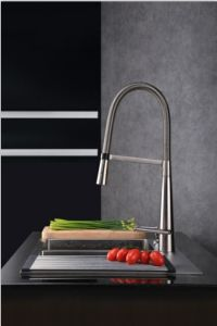 Sanitary Ware for PVD Finished Kitchen Faucet pictures & photos