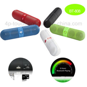 New Hot Selling Capsule Shape Bluetooth Speaker (BT808) pictures & photos