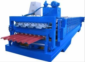 Professional Manufacturer Double Layer Roll Forming Machine