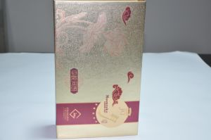 Custom Moon Cake Gift Paper Packaging Box with Foil Stamping pictures & photos