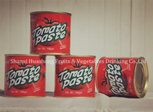 400g*24 22%-24% Canned Tomato Paste pictures & photos
