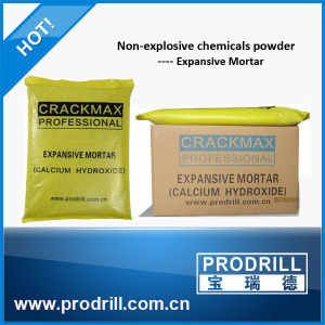 MSDS Crackmax Expansive Mortar/Cracking Agent for Granite Quarrying pictures & photos