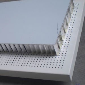 Perforated Ceiling Panels Honeycomb (HR P014)