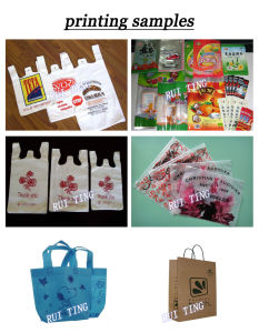 Yt-6800 Supermarket Handbag Plastic Vest Bag Flexo Printing Press Machine pictures & photos