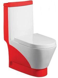 Wash Down One-Piece Toilet (A-0197C)