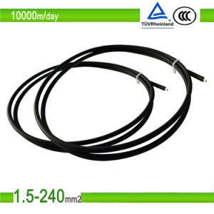 Solar Cables 6mm for Solar System pictures & photos