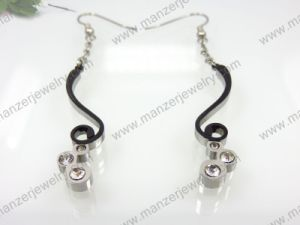 2014 Elegant Setting Stone Surgical Steel Earrings