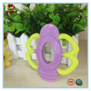 BPA Free Little Bee Silicone Teether for Babies pictures & photos