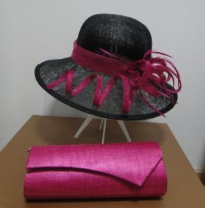 Organza Hats and Bag
