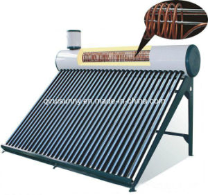 Compact Pre-Heated Copper Exchanger Solar Water Heater pictures & photos