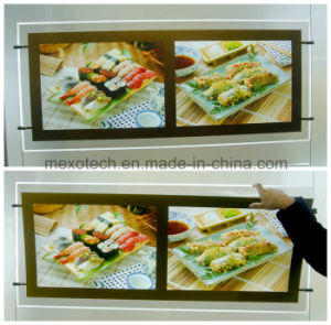 2015 New Product LED Silk Print Acrylic Slim Light Boxes pictures & photos