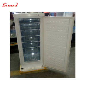Mini Portable Single Door Deep Upright Freezer for Home Use pictures & photos