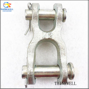 Forged Alloy Steel Electro Galvanized Double Clevis Link pictures & photos