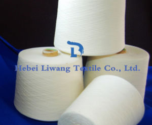 100% Polyester Spun Yarn for Knitting and Weaving