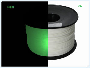 ABS 1.75mm Glow Green 3D Printing Filament pictures & photos