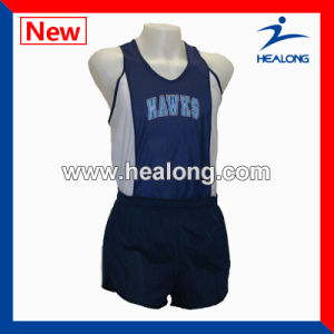 Healong Hot Sale Custom Sublimation Printing Running Jersey pictures & photos
