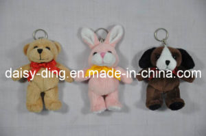 Plush Keychain Bear with Soft Material pictures & photos