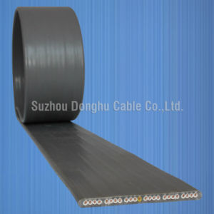 Flat PVC Sheathed Elevator Electric Wire and Cable pictures & photos