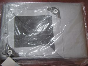 Truck Cover Laminated Coated Poly Tarp PE Tarpaulin with Reinforced Corners pictures & photos
