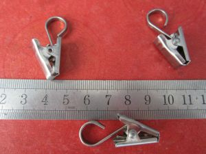 Manufacturer Supply Stainless Steel Curtain Clips