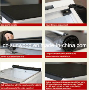 Low Profile Soft Roll up Tonneau Cover pictures & photos