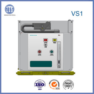 12kv Vs1 Indoor High-Voltage Vacuum Circuit Breaker with Embedded Pole pictures & photos