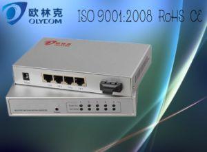 10/100m 1 Fiber + 4 RJ45 Fiber Switch (TA714-FE/S20)