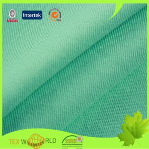 Stretch Polyester Spandex Knitting Elastic Plain Fabric (WPE1113)