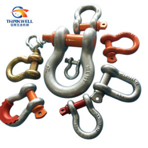 Forged Us Type Red Pin G209 Anchor Shackle pictures & photos