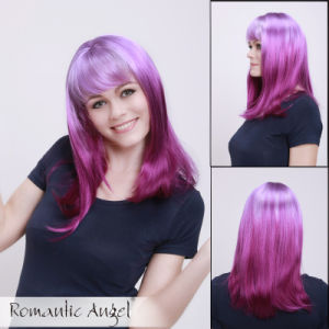 Synthetic Colorful Fashion Straight Wigs pictures & photos