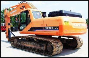 Used Volvo 300-5 Excavator