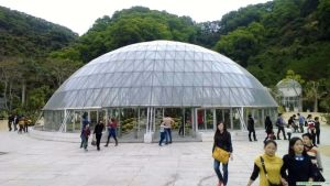 Dome Integrate Greenhouse Conservatory / Hothouse / Big Grower