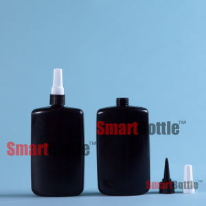 250ml Hopson Plastic Anaerobic Adhesive Black Bottle (Hpb-074) pictures & photos