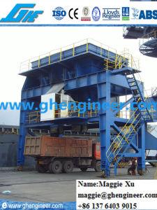 40cbm Port Jetty Rubber Tire Bulk Cargo Mobile Hopper pictures & photos