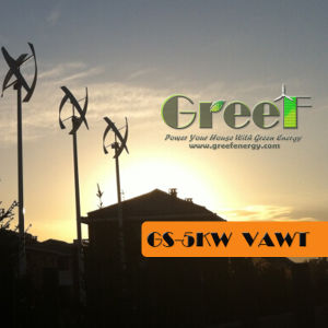Low Speed 5kw Vertical Axis Wind Turbine Price pictures & photos