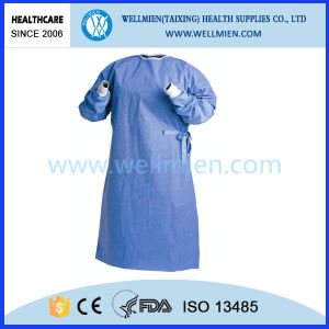Non-Woven Medical Surgical Gown pictures & photos